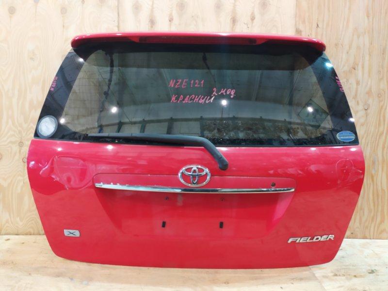 Дверь задняя багажника Toyota Corolla Fielder NZE121 1NZ-FE 2003