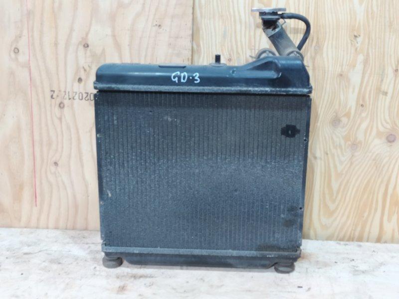 Радиатор двигателя Honda Fit GD3 L15A 2003