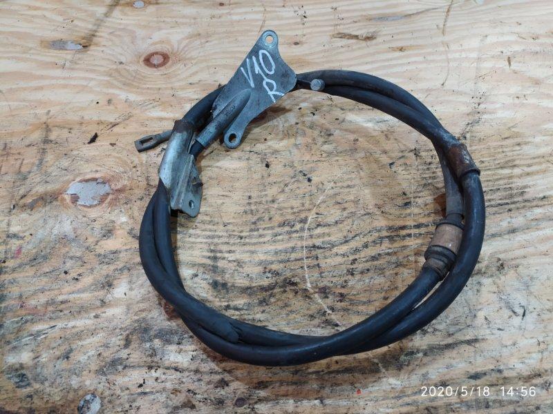 Трос ручника Nissan Tino V10 QG18DE 2000 правый