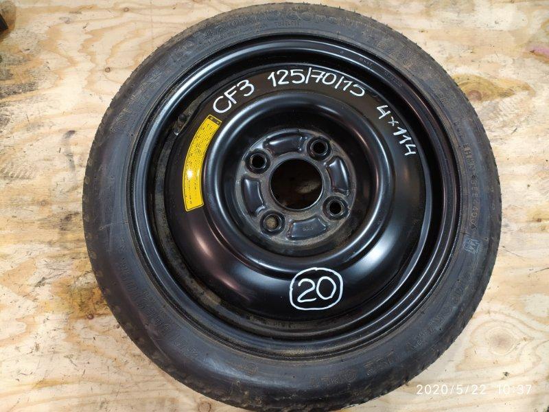 Запасное колесо Honda Accord CF3 F18B 2000