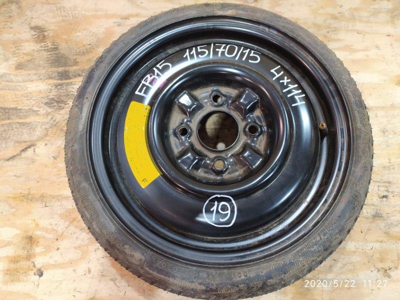 Запасное колесо Nissan Sunny FB15 QG15DE 2003