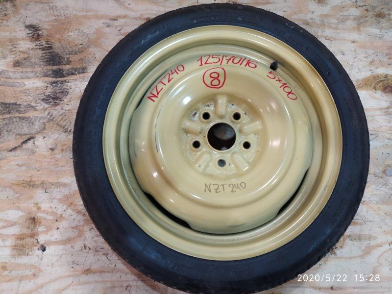 Запасное колесо Toyota Allion NZT240 1NZ-FE 2003