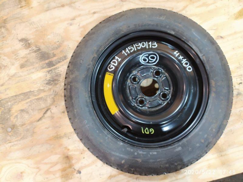 Запасное колесо Honda Fit GD1 L13A 2003