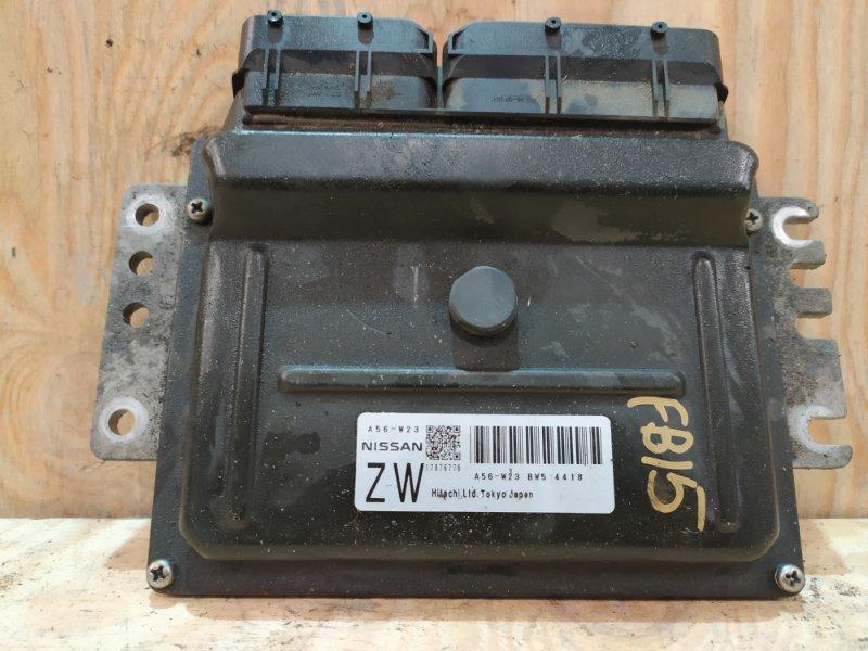 Блок управления двс Nissan Sunny FB15 QG15DE 2003