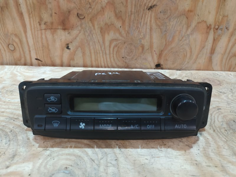 Блок управления климат-контролем Nissan Serena PC24 SR20DE 2001