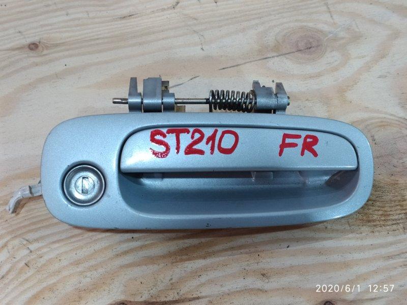 Ручка наружная Toyota Corona Premio ST210 3S-FE 1996 передняя правая