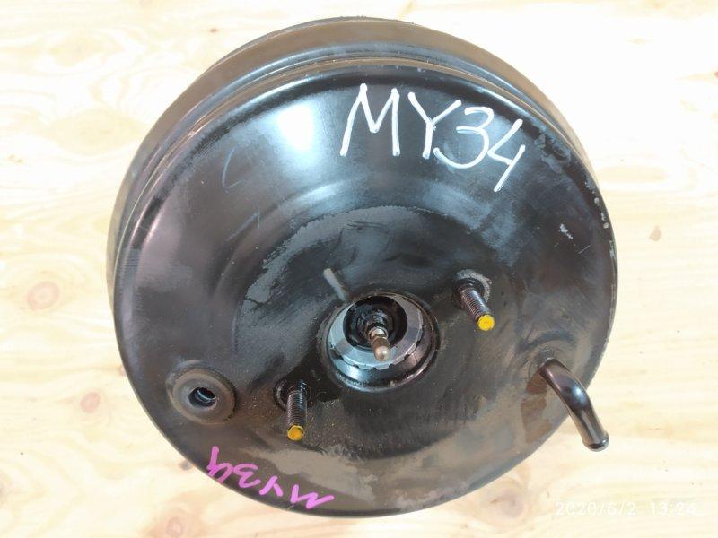 Вакуумный усилитель тормоза и сцепления Nissan Gloria MY34 VQ25DD 2002