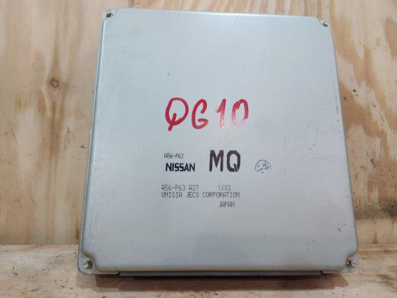Блок управления двс Nissan Bluebird Sylphy QG10 QG18DE 2001
