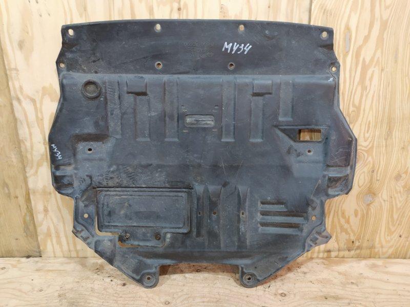 Защита двс Nissan Gloria MY34 VQ25DD 2002 передняя