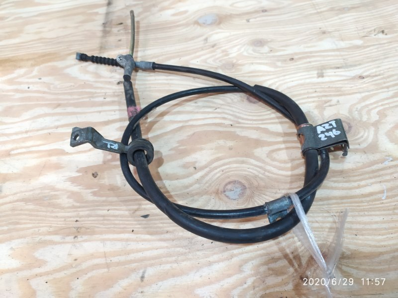 Трос ручника Toyota Caldina AZT246W 1AZ-FSE левый
