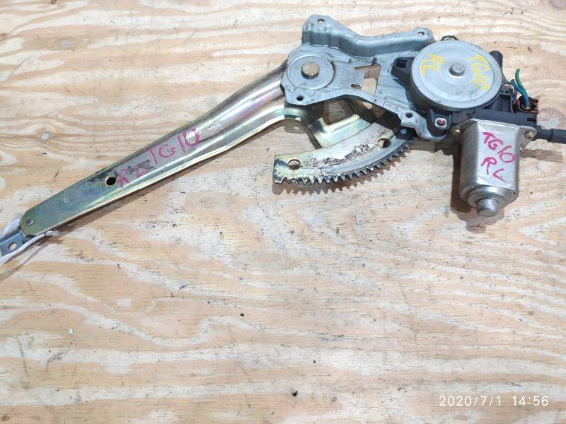Стеклоподъемник Nissan Bluebird Sylphy TG10 QR20DD 2001 задний левый
