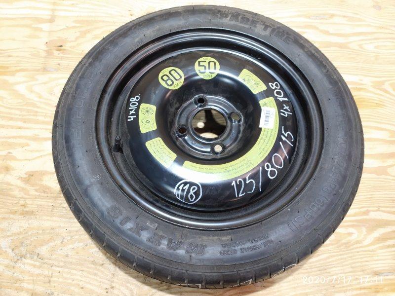Запасное колесо Peugeot 207