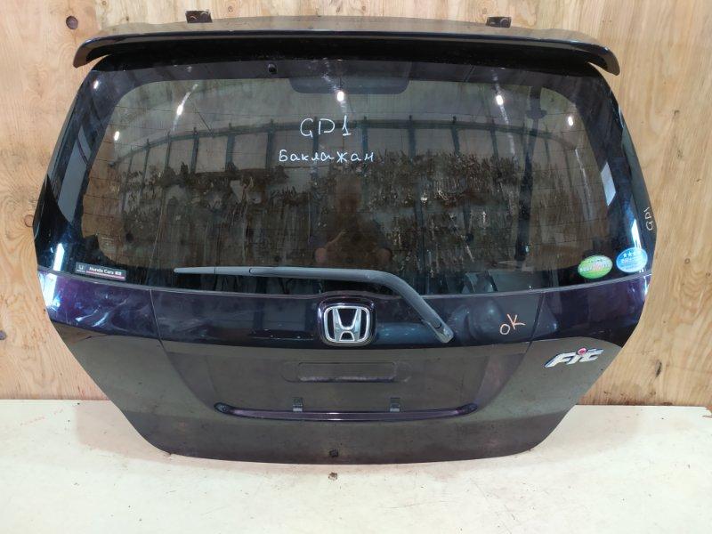 Дверь задняя багажника Honda Fit GD1 L13A 2007