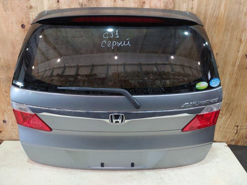 Дверь задняя багажника Honda Airwave GJ1 L15A 2007