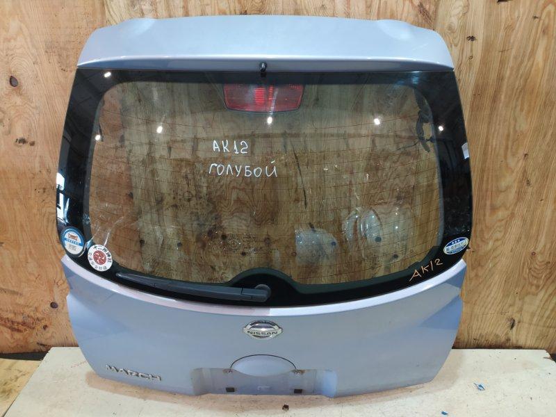 Дверь задняя багажника Nissan March AK12 CR12DE 2003