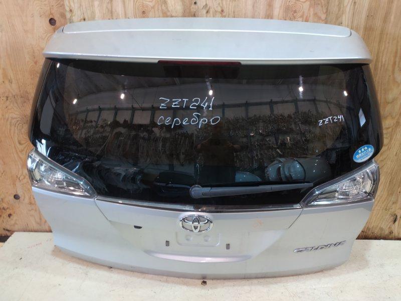 Дверь задняя багажника Toyota Caldina ZZT241W 1ZZ-FE 2005