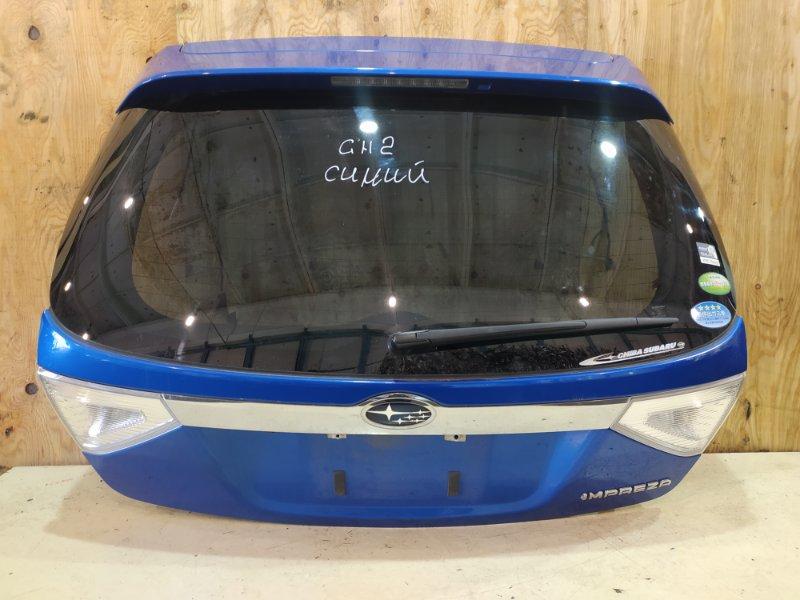 Дверь задняя багажника Subaru Impreza GH2 EL15 2009