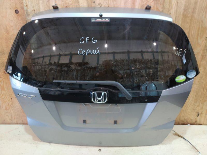Дверь задняя багажника Honda Fit GE6 L13A 2009
