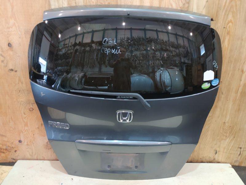 Дверь задняя багажника Honda Freed GB3 L15A 2009