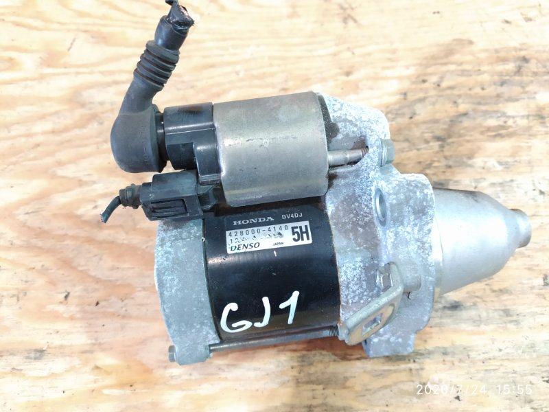 Стартер Honda Airwave GJ1 L15A 2007