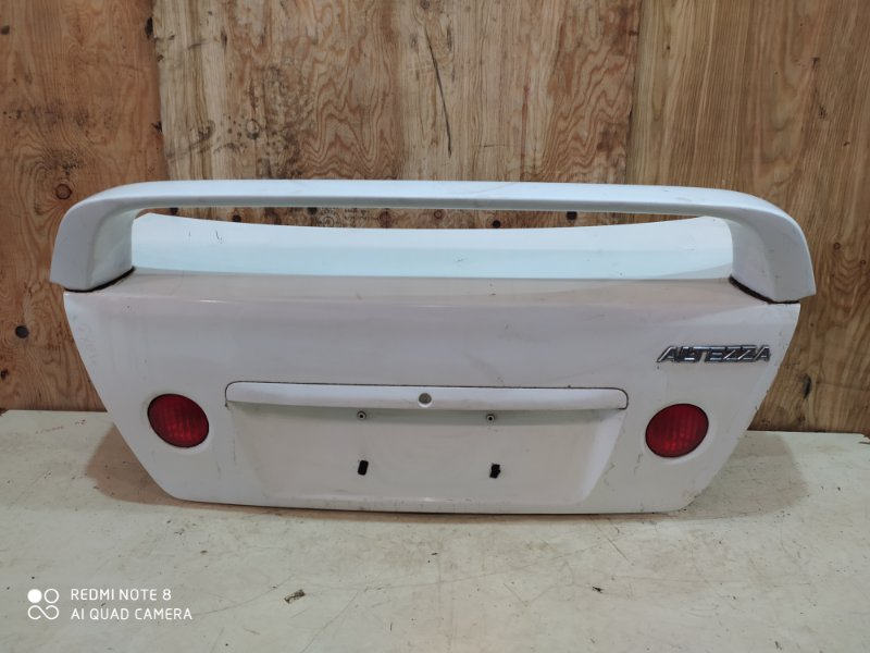 Крышка багажника Toyota Altezza GXE10 1G-FE 2000