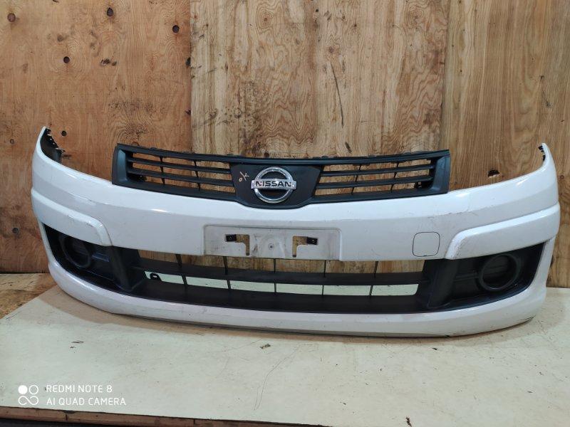 Бампер Nissan Ad VJY12 MR18DE 2014 передний