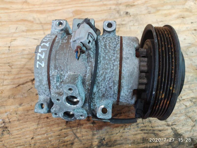 Компрессор кондиционера Toyota Caldina ZZT241W 1ZZ-FE 2005