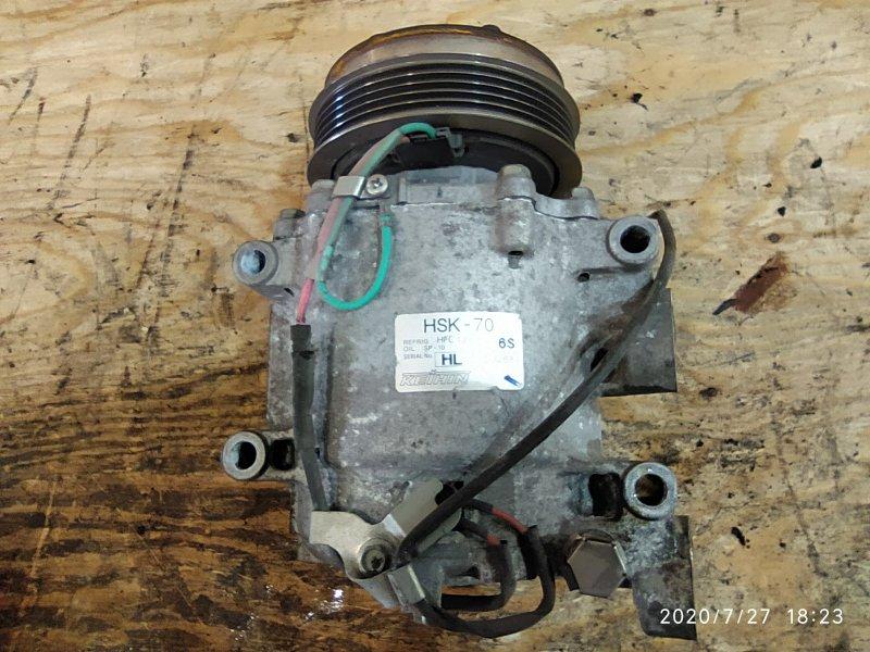 Компрессор кондиционера Honda Fit GE6 L13A 2009