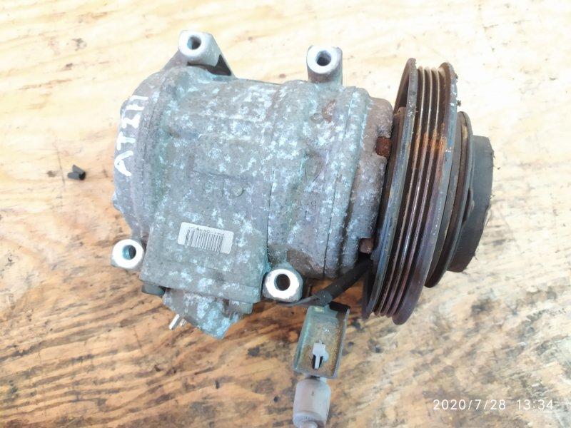 Компрессор кондиционера Toyota Caldina AT211G 7A-FE 1998