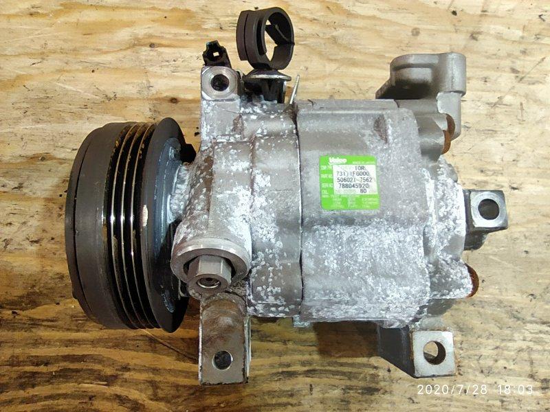 Компрессор кондиционера Subaru Impreza GH2 EL15 2007