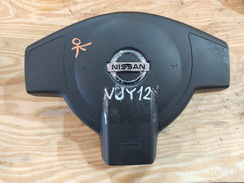 Аирбаг Nissan Ad VJY12 MR18DE 2014