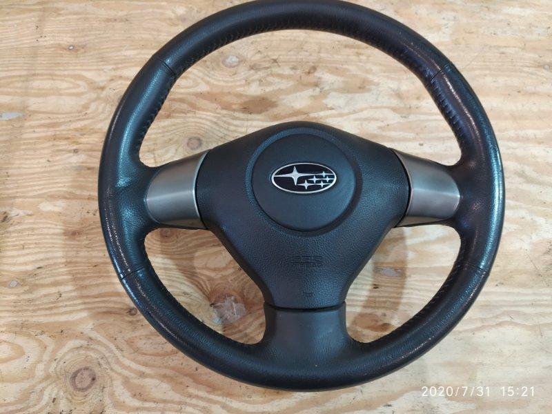Руль Subaru Impreza GH2 EL15 2009