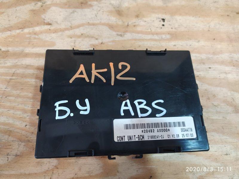 Блок управления abs. Nissan March AK12 CR12DE 2003