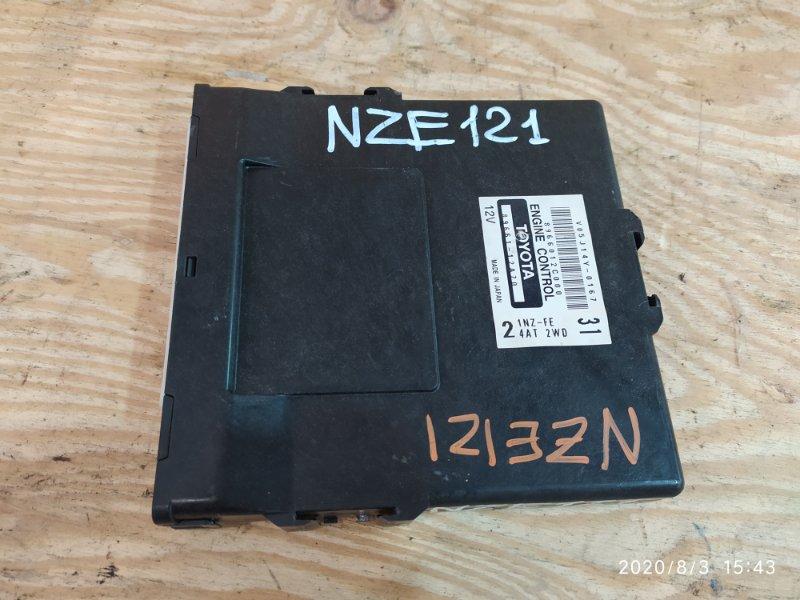 Блок управления двс Toyota Allex NZE121 1NZ-FE 2001