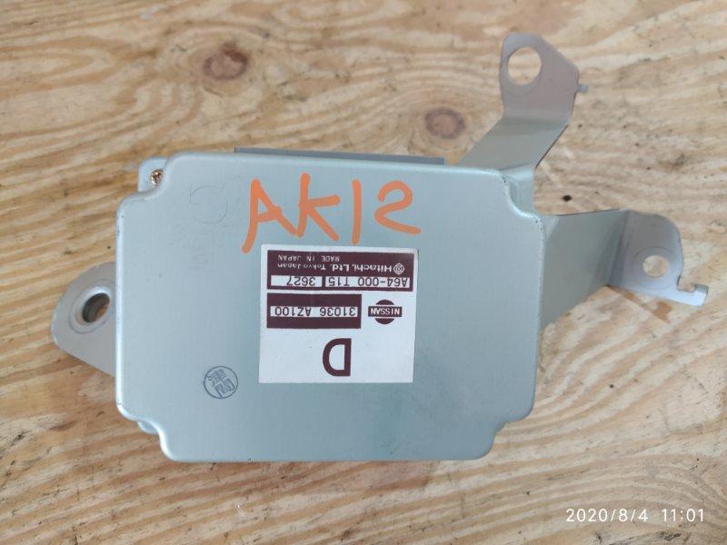 Блок управления кпп Nissan March AK12 CR12DE 2003