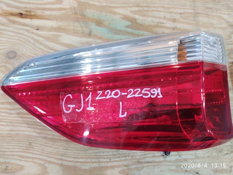 Фонарь стоп-сигнала Honda Airwave GJ1 L15A 2007 левый