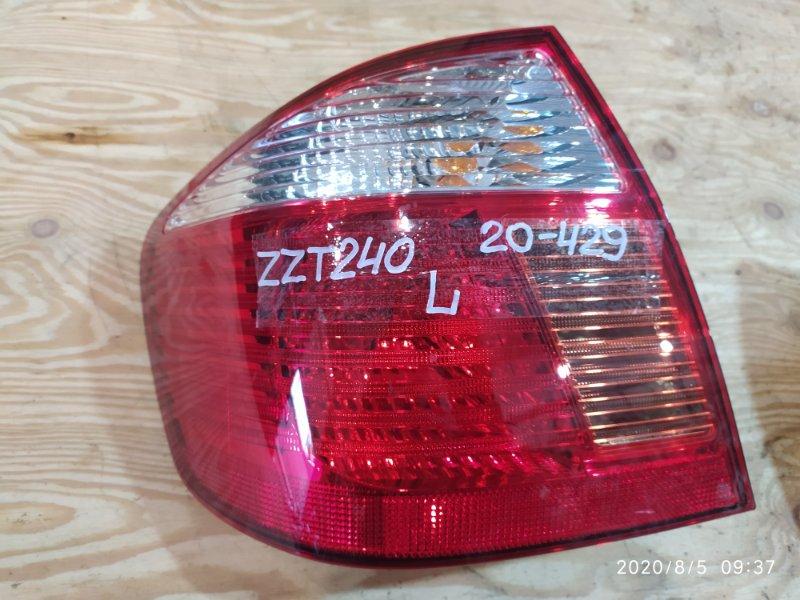 Фонарь стоп-сигнала Toyota Premio ZZT240 1ZZ-FE 2003 левый
