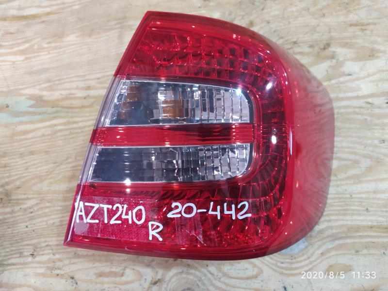 Фонарь стоп-сигнала Toyota Premio AZT240 1AZ-FSE 2005 правый