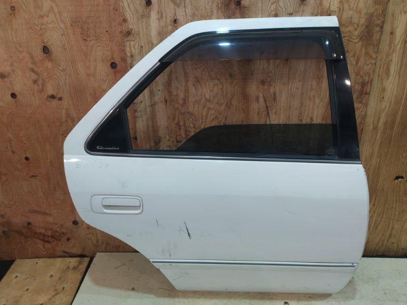 Дверь боковая Toyota Mark 2 Qualis SXV20 5S-FE 2001 задняя правая
