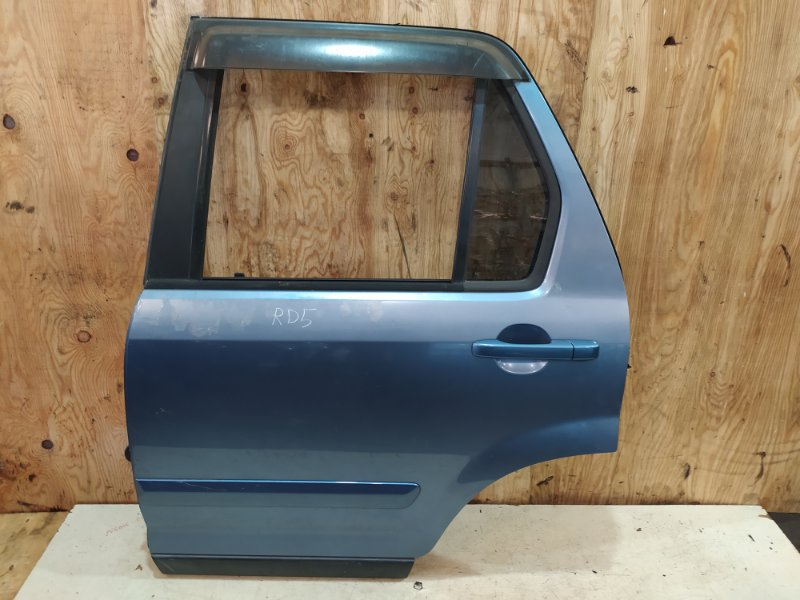 Дверь боковая Honda Cr-V RD5 K20A 2005 задняя левая