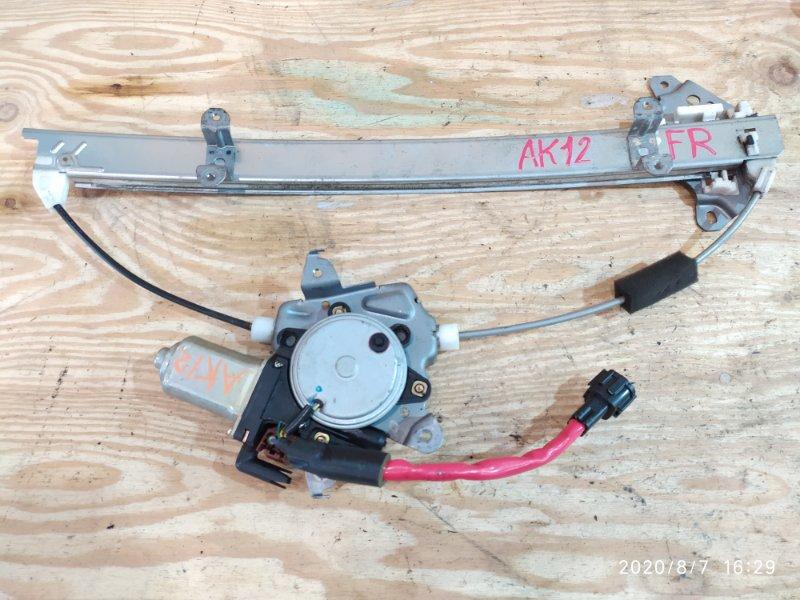 Стеклоподъемник Nissan March AK12 CR12DE 2003 передний правый