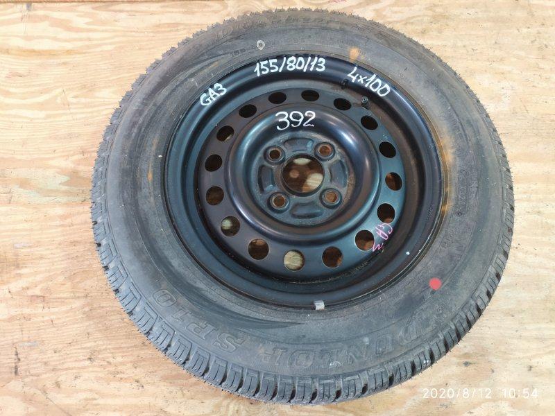 Запасное колесо Honda Logo GA3 D13B 2000