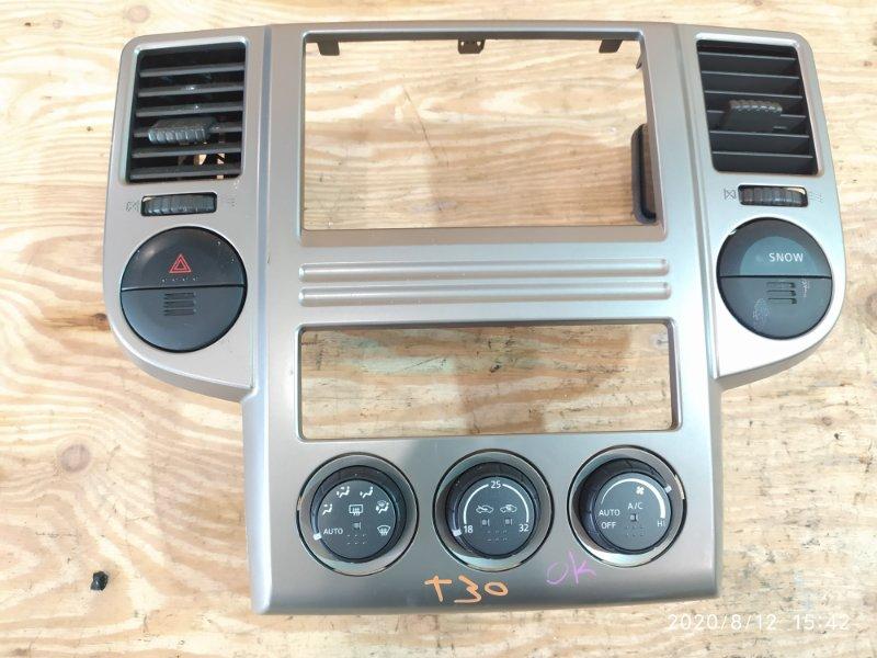 Блок управления климат-контролем Nissan X-Trail T30 QR20DE 2005