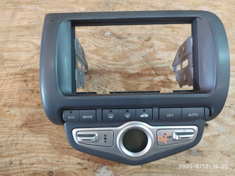 Блок управления климат-контролем Honda Fit GD1 L13A 2007