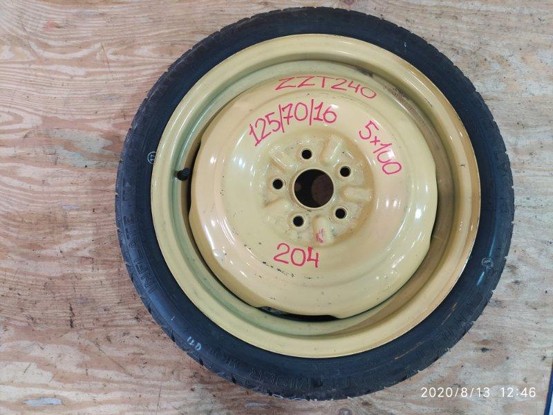 Запасное колесо Toyota Premio ZZT240 1ZZ-FE 2003