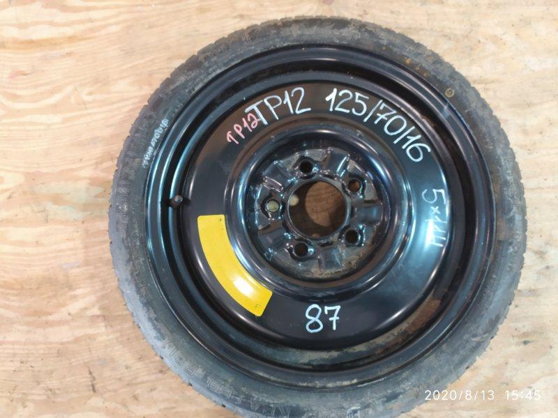 Запасное колесо Nissan Primera TP12 QR20DE 2003