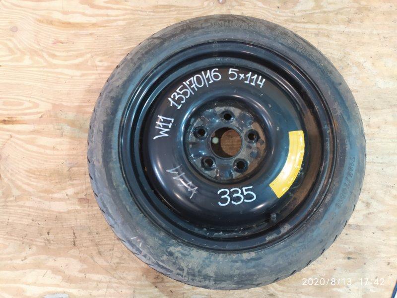 Запасное колесо Nissan Avenir W11 QR20DE 2004