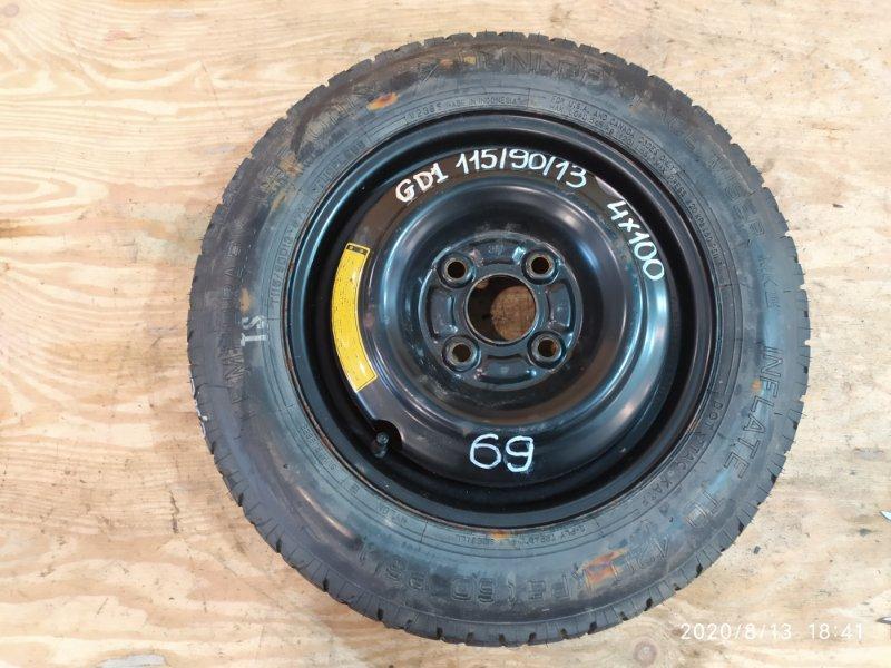 Запасное колесо Honda Fit GD1 L13B