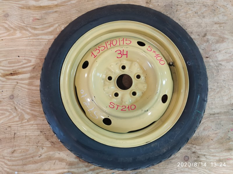 Запасное колесо Toyota Corona Premio ST210 3S-FSE 1997