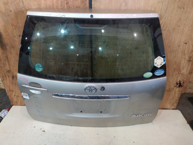 Дверь задняя багажника Toyota Raum NCZ20 1NZ-FE 2003